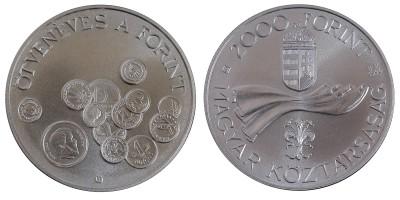 2000 Ft 50 éves a forint 1996 BU