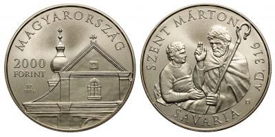 2000 forint Szent Márton 2016