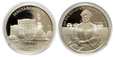 20000 forint Széchenyi István 2016