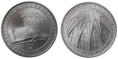 2000 Forint alaptörvény  2016 BU