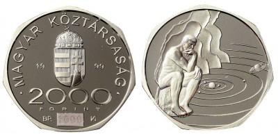 2000 forint az ezredforduló 1999 PP