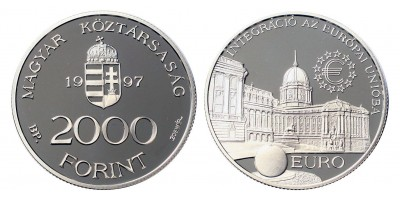 2000 Forint EURO 1997 PP