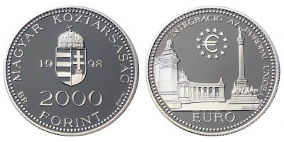 2000 Forint EURO 1998 PP
