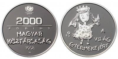 2000 Forint  világ gyermekeiért 1998 PP