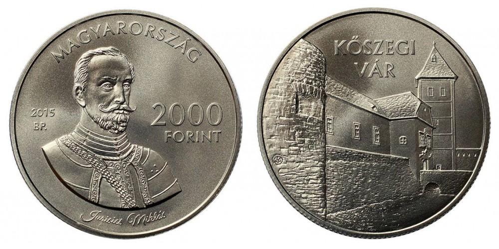 2000 Forint Kőszegi vár 2015 BU