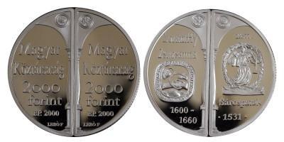 2000 forint Lórántffy Zsuzsanna 2000 PP