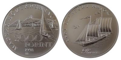 2000 Forint régi Balatoni hajók 1998 BU
