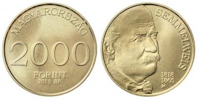 Semmelweis I 2000 forint 2015