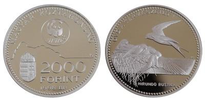 2000 forint Védd a természetet 1998 PP
