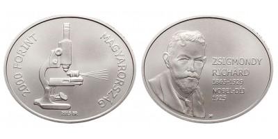 2000 Forint Zsigmondy Richárd 2015 BU