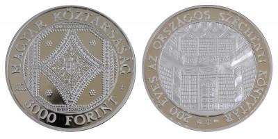 3000 forint Széchenyi könyvtár 2002 PP
