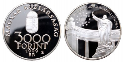 3000 Forint EURO 1999 PP
