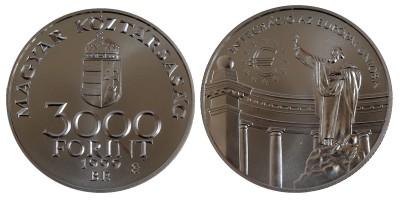 3000 Forint Integráció az EU-ba 1999 BU