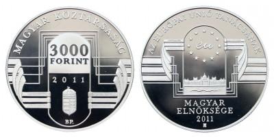 3000 Forint Magyar EU elnökség 2011 PP