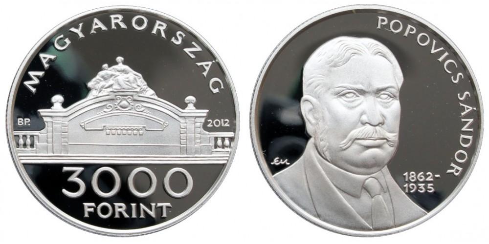 3000 Ft Popovics Sándor 2012 PP