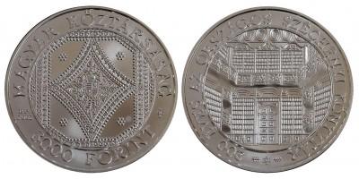 3000 forint Széchenyi könyvtár 2002 BU