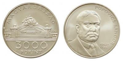 3000 Ft Popovics Sándor 2012 BU próbaveret
