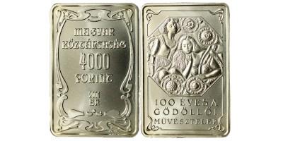 4000 forint Gödöllői művésztelep 2001 BU