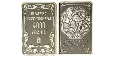 4000 forint Gödöllői művésztelep 2001 PP