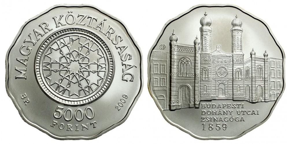 5000 forint a Dohány utcai Zsinagóga 2009 BU