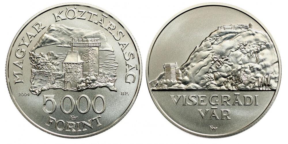 5000 Forint Visegrádi Vár 2004 Bu