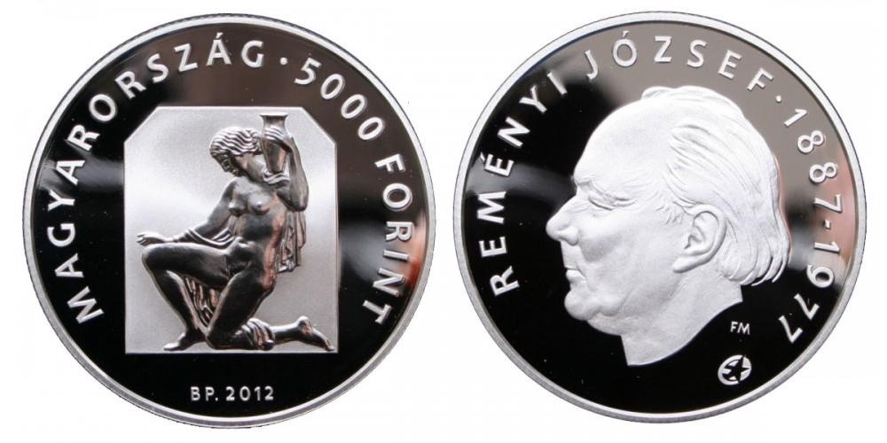 5000 Forint Reményi József 2012 PP