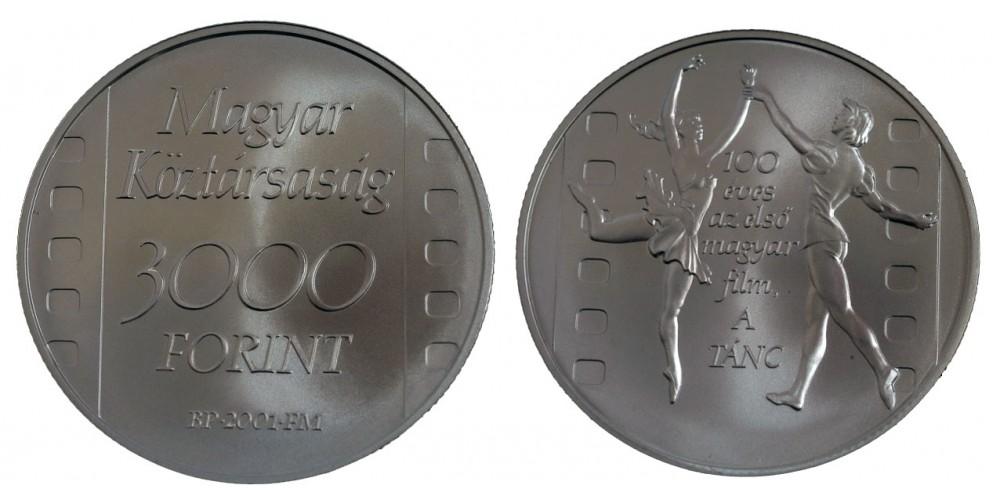 3000 Forint 100 éves a Magyar film 2001 BU