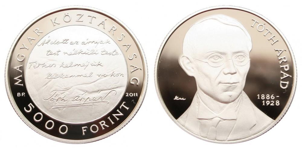 5000 Ft Tóth Árpád 2011 PP