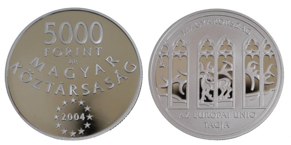 5000 Ft Csatlakozás az EU-hoz 2004 PP