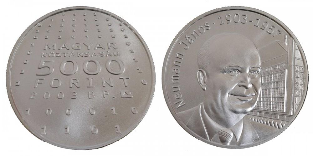 5000 Ft Neumann János 2003 BU