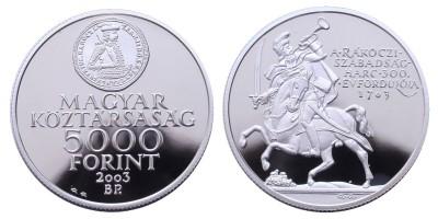 5000 Ft Rákóczi szabadságharc  2003 PP