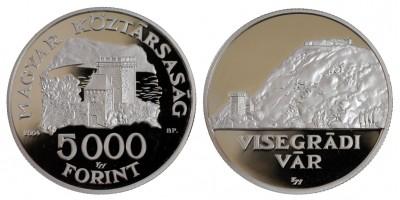 5000 Ft Visegrádi Vár 2004 PP