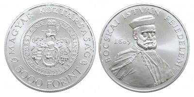 5000 Forint Bocskai István 2005 BU