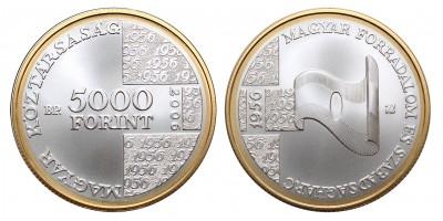 5000 Forint 1956-os Forradalom 2006 BU