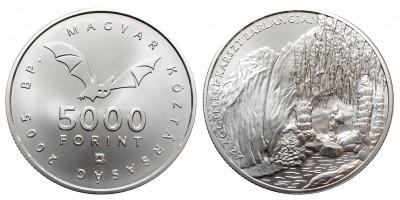 5000 Forint Aggteleki csepkőbarlang 2005 BU