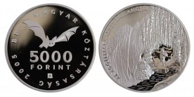5000 Forint Aggteleki csepkőbarlang 2005 PP