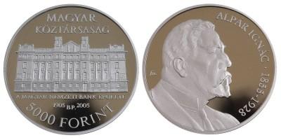5000 Forint Alpár Ignác 2005 PP