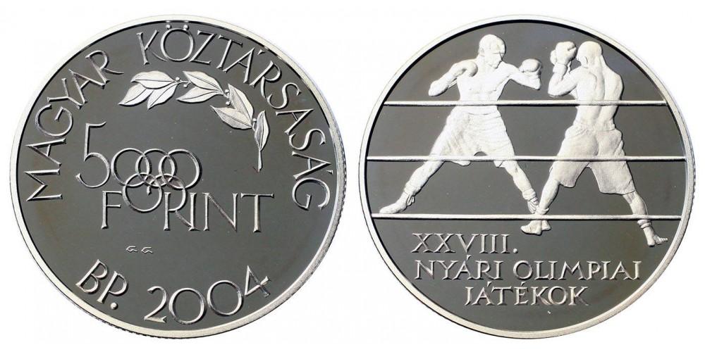 5000 forint Olimpia 2004 PP