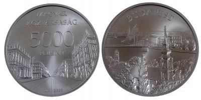 5000 forint Budapest 2009 BU