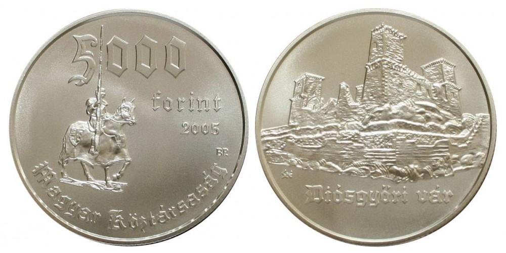 5000 Forint Diósgyőri vár 2005 BU