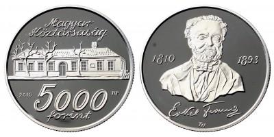 Erkel 5000 forint  2010 PP