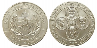 5000 forint Filharmónia 2003 BU