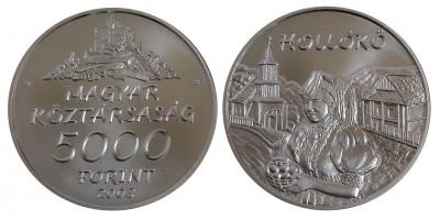 5000 forint Hollókő 2003 BU