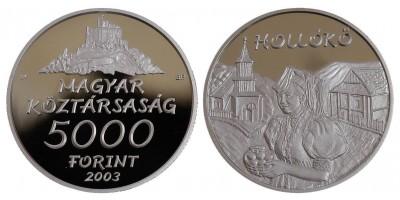 5000 forint Hollókő 2003 PP