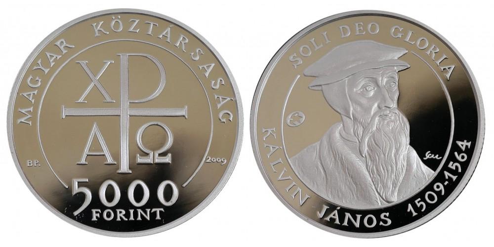 5000 Ft Kálvin János 2009 PP