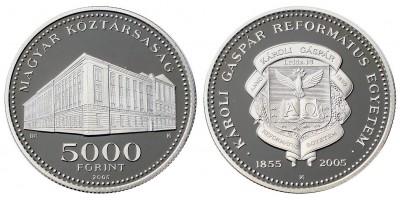 5000 forint Károli Gáspár Református Egyetem 2005 PP