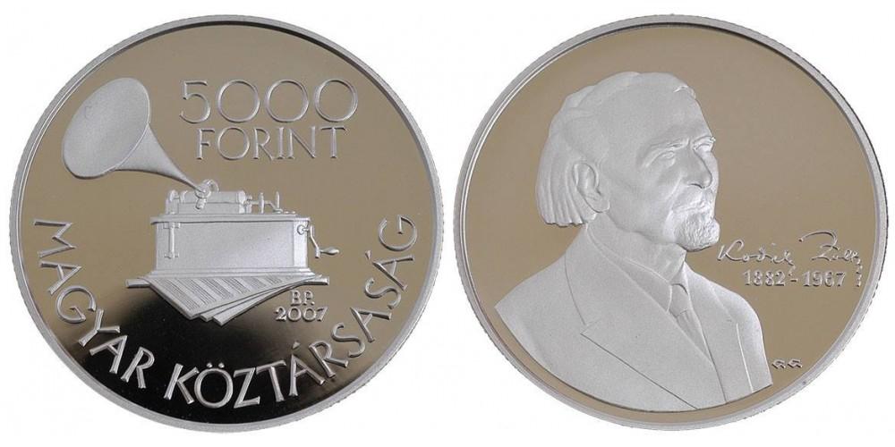 5000 Forint Kodály Zoltán 2007 PP