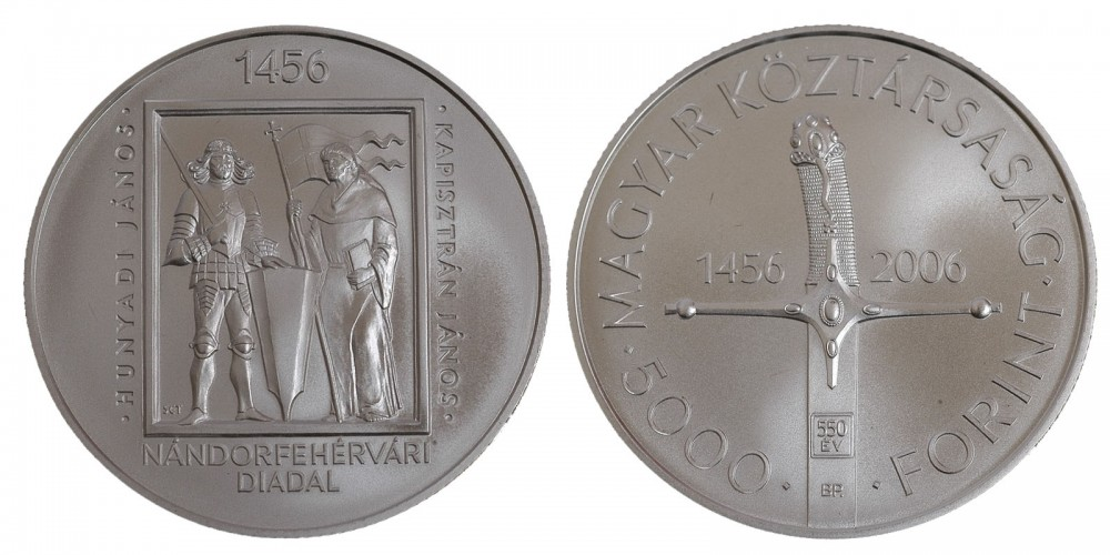 5000 Ft Nándorfehérvári diadal 2006 BU