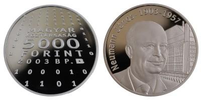 5000 Ft Neumann János 2003 PP