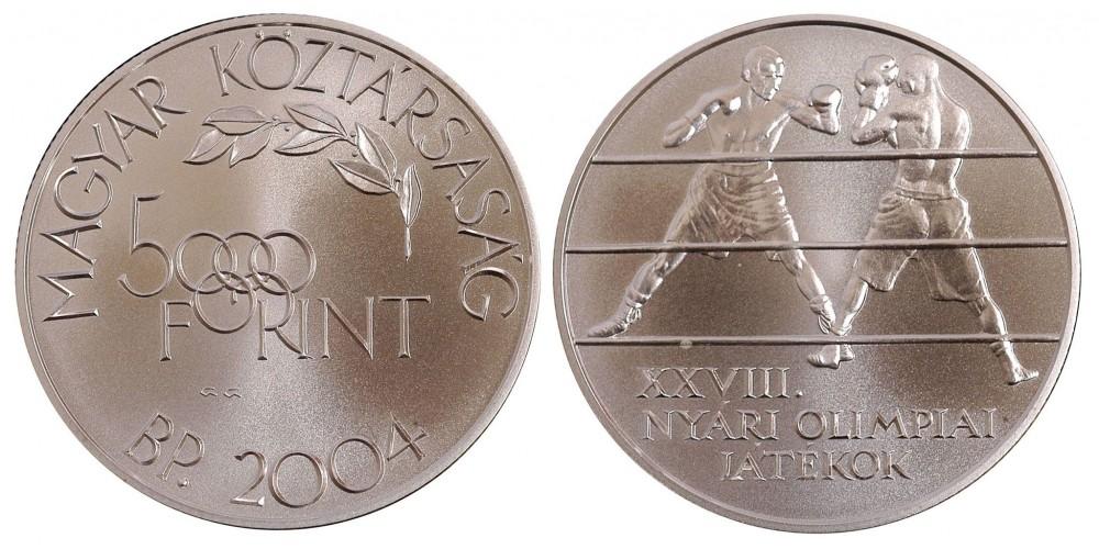 5000 forint Olimpia 2004 BU